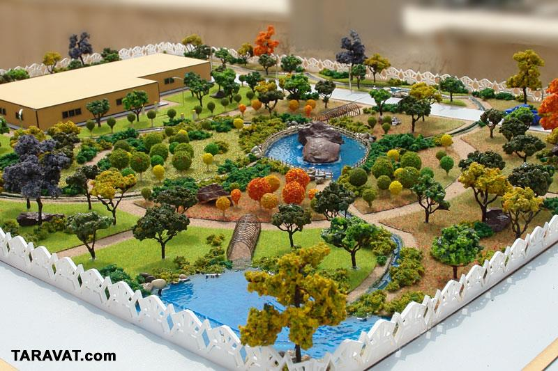 Projects maquette green space and parks projects for Japanese garden project